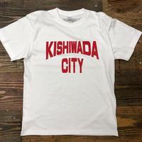 【KISHIWADA CITY】KISHIWADA CITY REP TEE(WHITE)