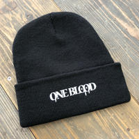 【TAPPOI ORIGINAL BRAND】ONE BLOOD REGULAR KNIT CAP(BLACK)