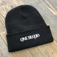 【TAPPOI ORIGINAL BRAND】ONE BLOOD REGULAR KNIT CAP(BLACK)