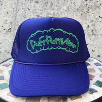 Puff Puff Kids MESH CAP (PURPLE/GREEN)