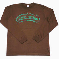 Puff Puff LONG SLEEVE TEE (BROWN)