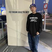 【KISHIWADA CITY】TAGGING Classic Long Sleeve T-Shirt (BLACK)