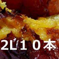 【しばらく入荷予定なし】超蜜やきいも(冷凍)★2Lサイズ★ 10本