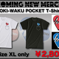 DOKI-WAKU POCKET T-shirts