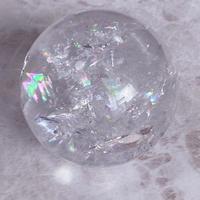 虹入り水晶 A