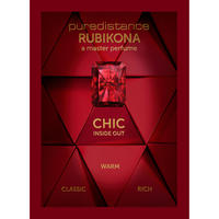 Puredistance Rubikona Scented Greeting Card (with a message from Jan Ewoud Vos)