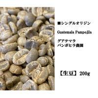 【生豆】single   グアテマラ パンポヒラ農園 200g