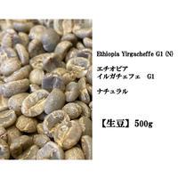 【生豆】エチオピア イルガチェフG1 アラモ ナチュラル 500g