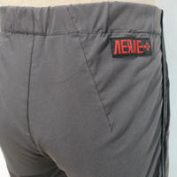 VERVE  Xeno Shorts Charcoal x Red