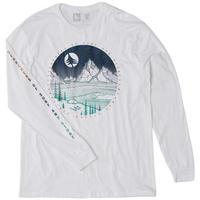 HIPPY TREE MOONLIGHT L/S TEE White