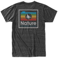 HIPPY TREE CHROMATIC TEE Heather Charcoal