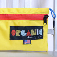 ORGANIC CLIMBING Big Diffy Bag Yellw x Red
