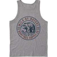 HIPPY TREE GRIZZLY TANK Heather Grey