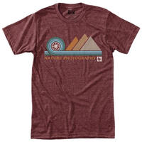 HIPPY TREE APERTURE TEE Heather Rust