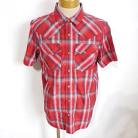 PRANA Holstad Short Sleeve Shirt Crimson