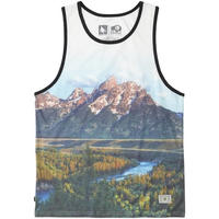 HIPPY TREE RANGE TANK White