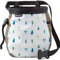 PRANA GRAPHIC CHALK BAG WITHE BELT Cargo Green Trees