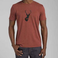 PRANA Buck Wild Journeyman T-shirt Rusted Roof Heather