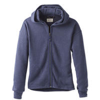 PRANA COZY UP ZIP JACKET Dam equinox blue heather