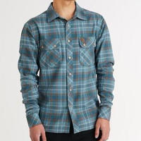 HIPPY TREE FAIRING FLANNEL Blue
