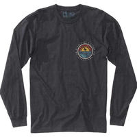 HIPPY TREE COMMUNITY L/S TEE Heather Charcoal
