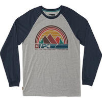 HIPPY TREE SUNBELT L/S TEE  Heather Grey