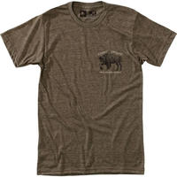 HIPPY TREE DAKOTA TEE Heather Brown