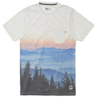 HIPPY TREE TREELINE TEE Heather Natural