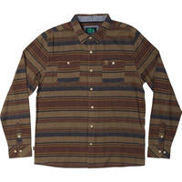 HIPPY TREE ASHBURY FLANNEL Tan