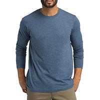 PRANA Long Sleeve Crew T-Shirt DenimHeather