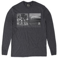 HIPPY TREE WANDERER L/S TEE Heather Charcoal