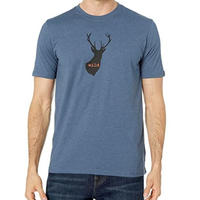 PRANA Buck Wild Journeyman T-shirt Denim Heather