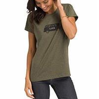 PrAna Graphic T-shirt Rye Van Life