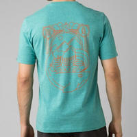 PRANA Weekend Wander T-Shirt Azurite Heather