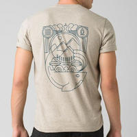 PRANA Weekend Wander T-Shirt  Dark Khaki Heather