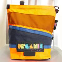 ORGANIC CLIMBING Lunch Chalk Bag Orange x L.Brown