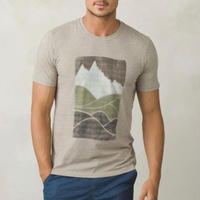 PRANA Ezer T-Shirt Khaki Heather