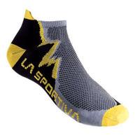 LA SPORTIVA CLIMBING SOCKS Grey x Yellow