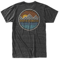 HIPPY TREE SUNRIDGE TEE Heather Charcoal