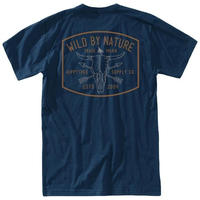 HIPPY TREE RANCHERO TEE Navy