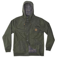 HIPPY TREE MIDLAND JACKET Army