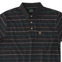 CULVER POLO HEATHER BLACK