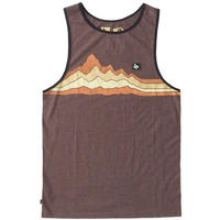 HIPPY TREE CANYON TANK Heather Brown
