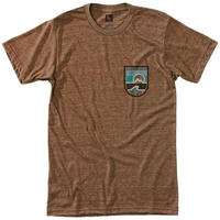 HIPPY TREE SEASTRIPE TEE Heather Brown