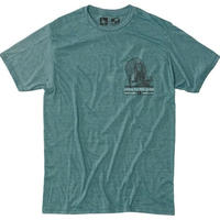 HIPPY TREE CHIEF TEE Heather Teal