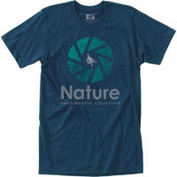 HIPPY TREE SHUTTER TEE Navy