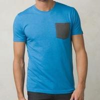 PRANA Pockt T-Shirt Voltex Blue