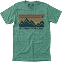 HIPPY TREE SPECTRUM TEE Heather Green