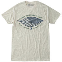 HIPPY TREE WAVE PALM TEE Heather Natural