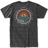 HIPPY TREE COMMUNITY TEE Heather Black